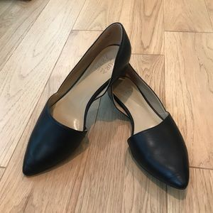 Naturalizer Black Leather Flats